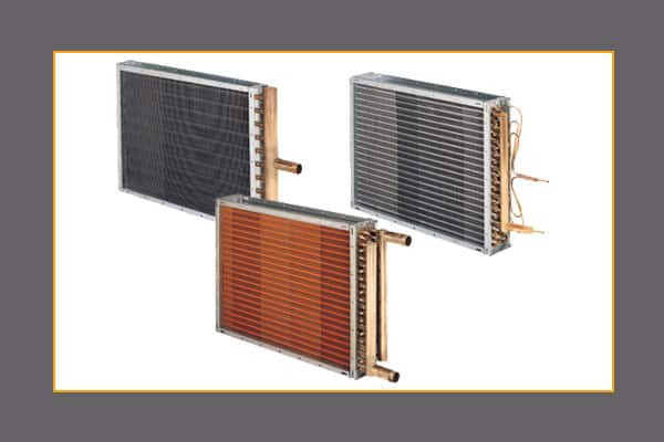 HVAC heating and cooling coils