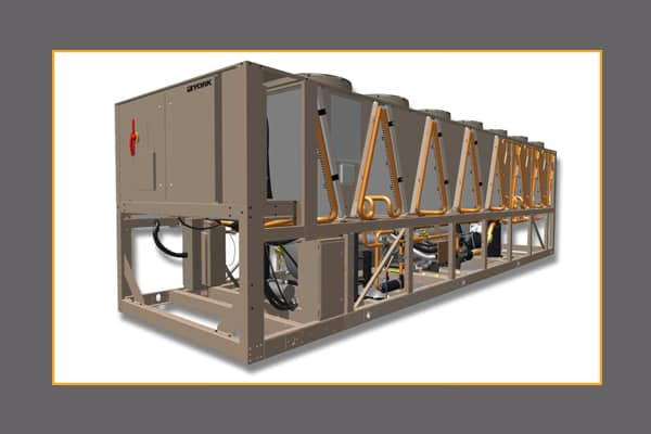 Yvfa Free Cooling Vsd Screw Air Cooled Chiller Johnson