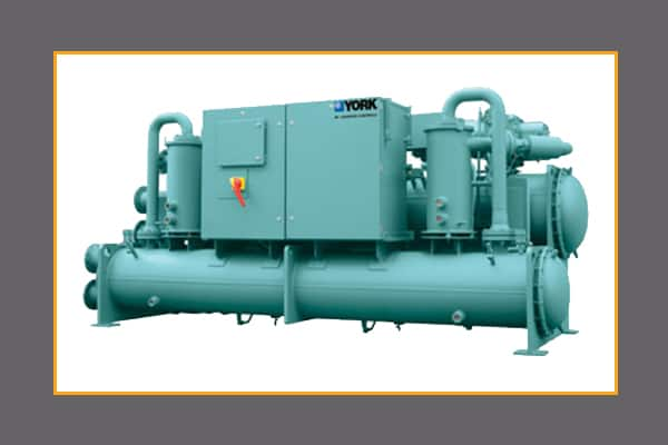 chillers water air cooled chiller systems by york johnson controls rh johnsoncontrols com Parts of a Chiller Centrifugal Chiller Fundamentals