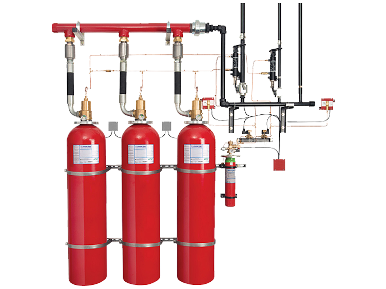 Gaseous Fire Suppression Systems And Control Panels Johnson Controls