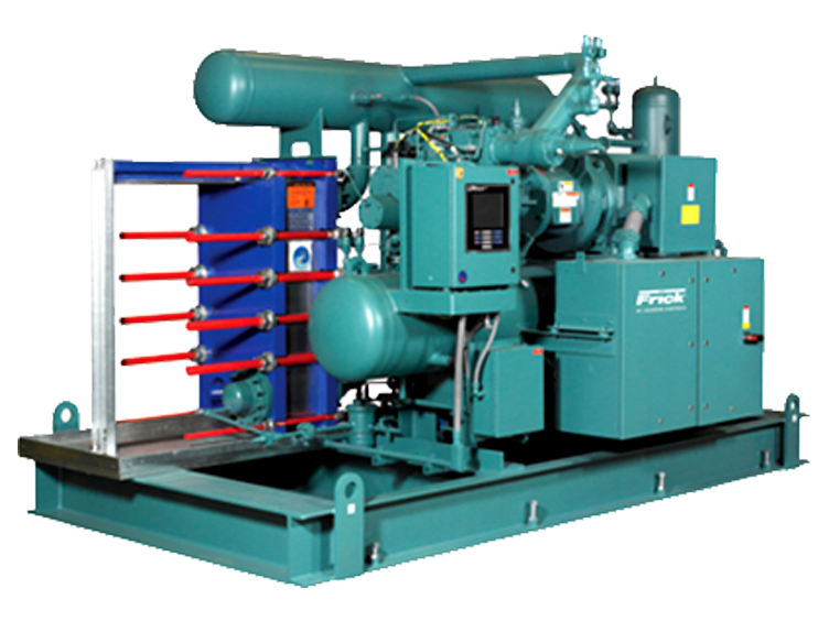 Frick® PowerPac™ Industrial Refrigeration Chiller