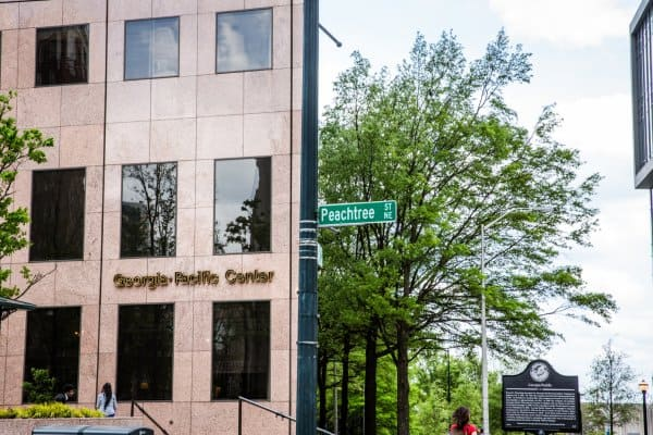 The Georgia-Pacific headquarters in Atlanta, Georgia, is undergoing a digital transformation which will improve operational efficiency, and enhance employee productivity and comfort.