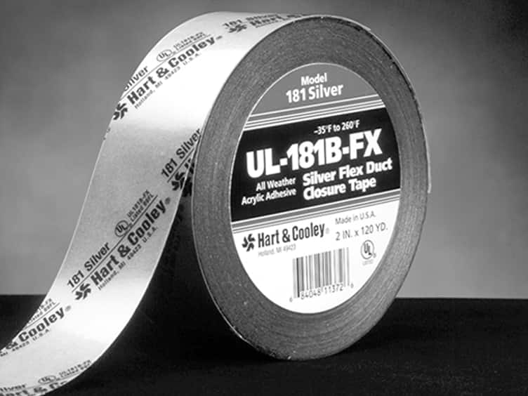 black silver duct tape