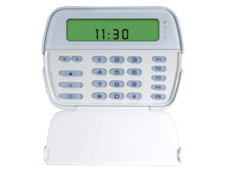 DSC Security Alarm System-PK5501 PowerSeries 64-Zone LCD Picture Icon Keypad