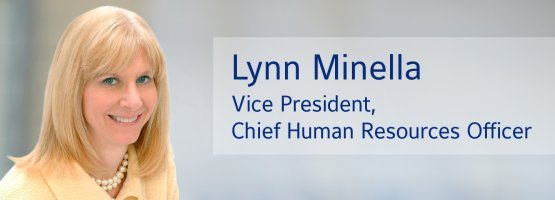Lynn Minella, vice president, chief human resources officer, Johnson Controls