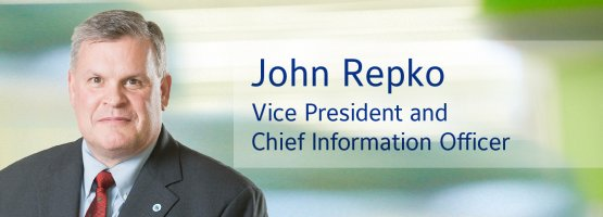 John Repko, Johnson Controls Vice President and Chief Information Officer