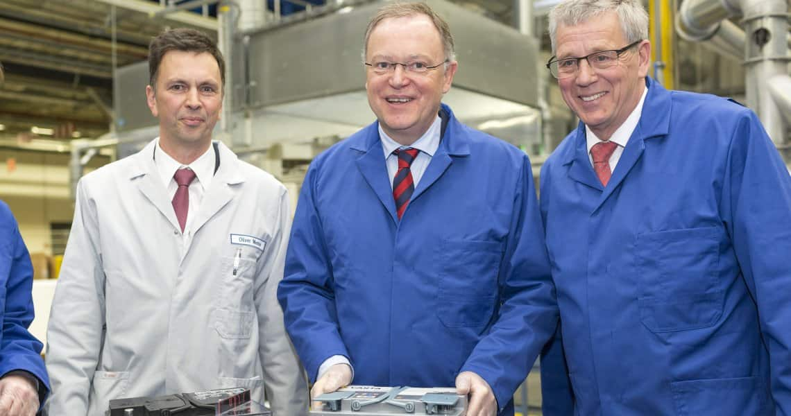 Johnson Controls increases production of fuel-efficient batteries in Hannover to meet rising customer demands