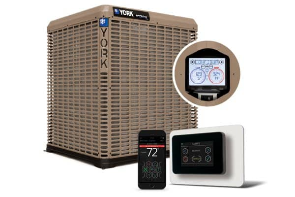 The YORK Affinity YZV 20 SEER Variable Capacity Heat Pump and YXV 20 SEER Variable Capacity Air Conditioner were named 2018 AHR Innovation Award finalists.