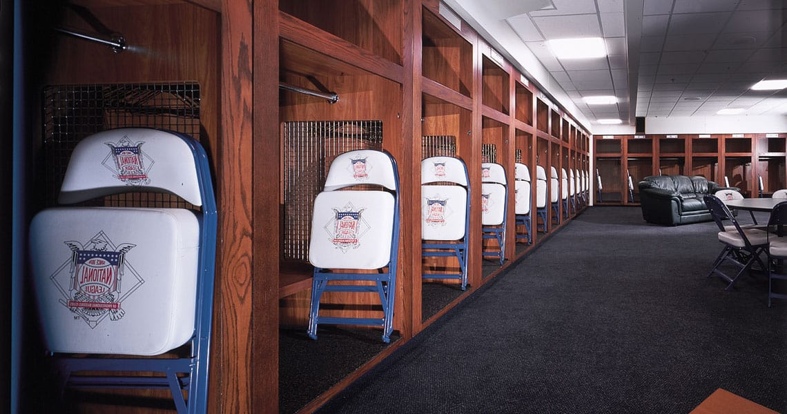 Miller Park Locker Room