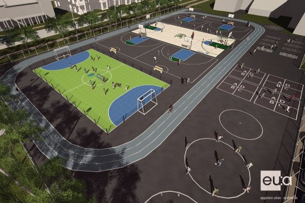 The Milwaukee Bucks and Johnson Controls jointly revealed plans on May 23, 2017, to build a $150,000 multi-sport complex on the campus of Browning Elementary School and Silver Spring Neighborhood Center in Milwaukee.