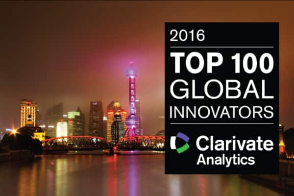 Johnson Controls ranks among the most innovative companies in the world, according to the Clarivate Analytics Top 100 Global Innovators list for 2016.