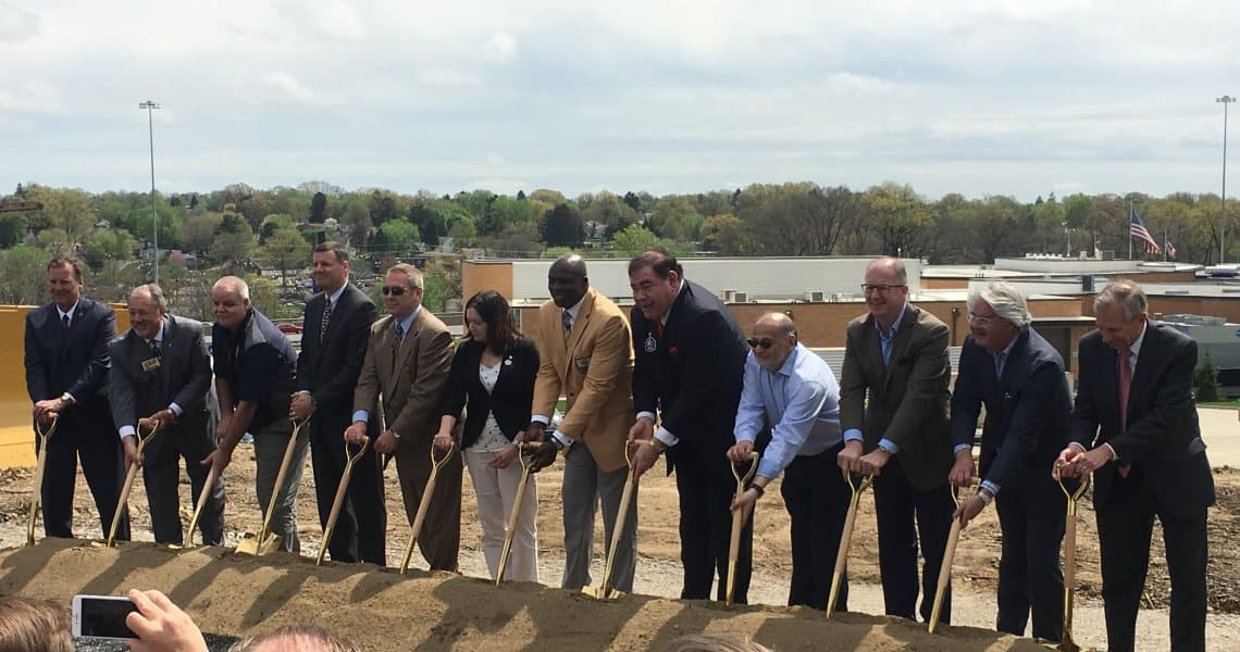 A major milestone for the Johnson Controls Hall of Fame Village occurred April 25, 2017, as ground was broken for the spectacular Hall of Fame Hotel.