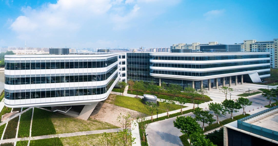 Johnson Controls Headquarters Asia Pacific in Shanghai, China, opens in June 2017.