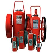 Fire extinguisher systems