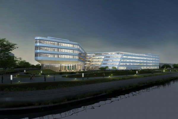 Johnson Controls' new headquarters building being built in Shanghai has received the first-ever EDGE design-phase certification for an office building in China.