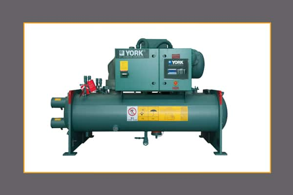 york chillers hvac equipment johnson controls rh johnsoncontrols com Centrifugal Chiller Compressor Cooler Gasket Trane Chillers
