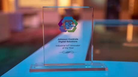 Johnson Controls Award
