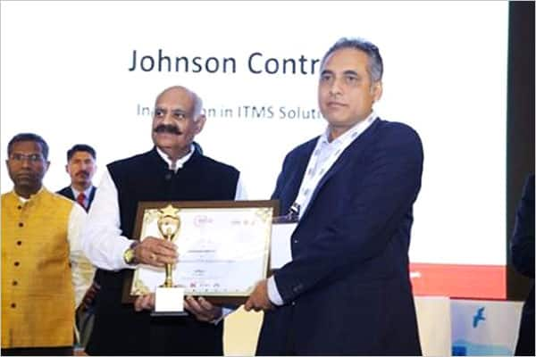 Johnson Controls expert at Smart City Conclave Chandigarh