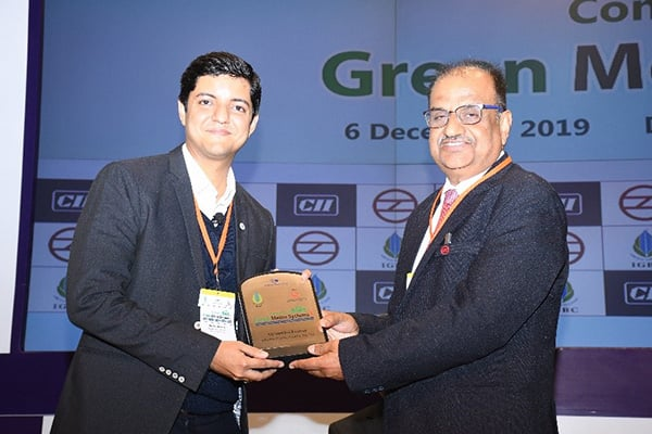 Johnson Controls at National Conference on Green Metro system, CII