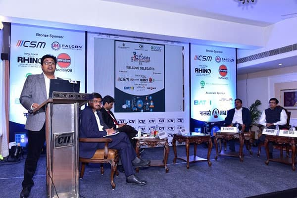 Johnson Controls speaking at the 9th ICT Odisha-Industry 4.0 Making Smarter Organizations conference