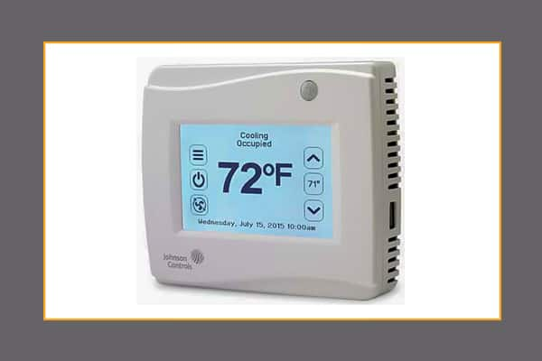 thermostats \u2013 hvac controls johnson controlsnetworked thermostat controllers