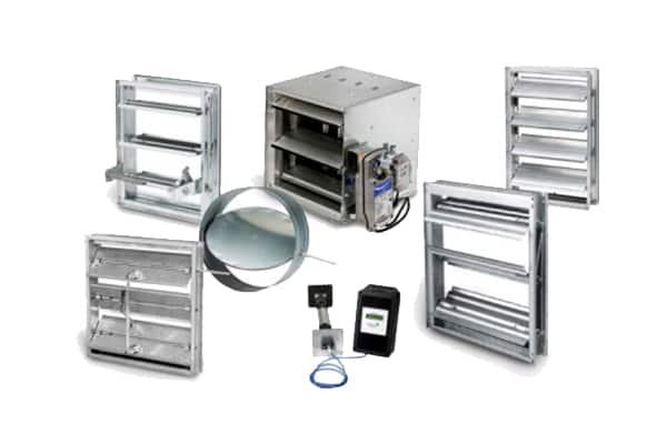 Hvac equipment johnson controls for Motorized outside air damper