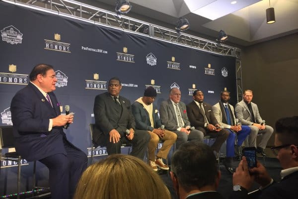 The Pro Football Hall of Fame Class of 2018