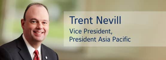 Trent Nevill, Johnson Controls Vice President, President Asia Pacific