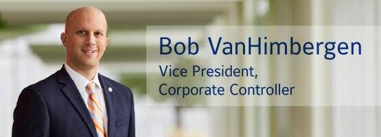 Bob VanHimbergen is vice president, corporate controller of Johnson Controls.