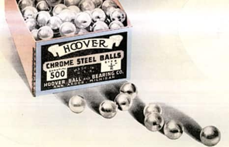 history 1913 hoover balls