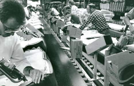 history 1987 production line