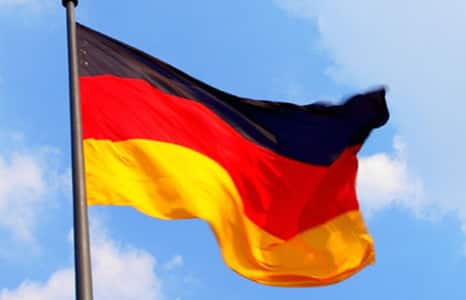 history 2003 german flag