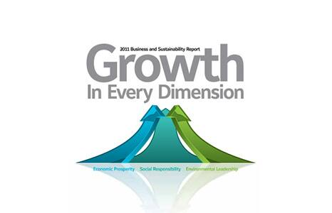 history 2011 growth logo