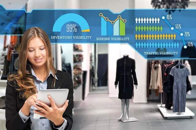 RFID技术店铺可视化管理