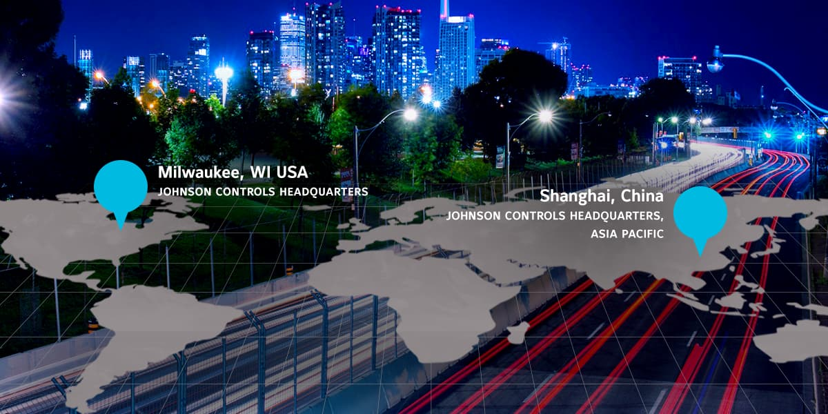 Johnson Controls headquarters locations